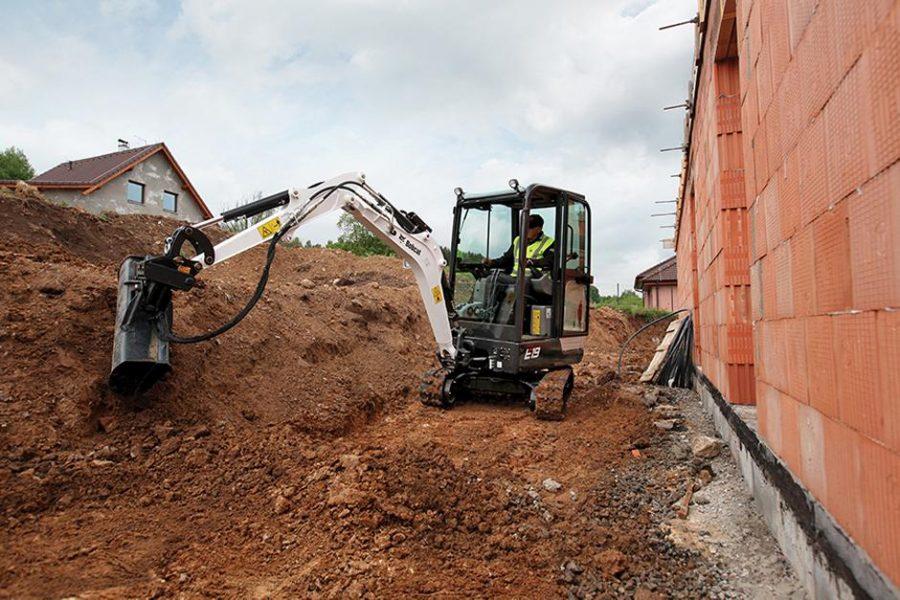 Bobcat Compact Mini Excavator e19 construction agriculture