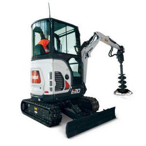 Bobcat Compact Mini Excavator e20 construction agriculture