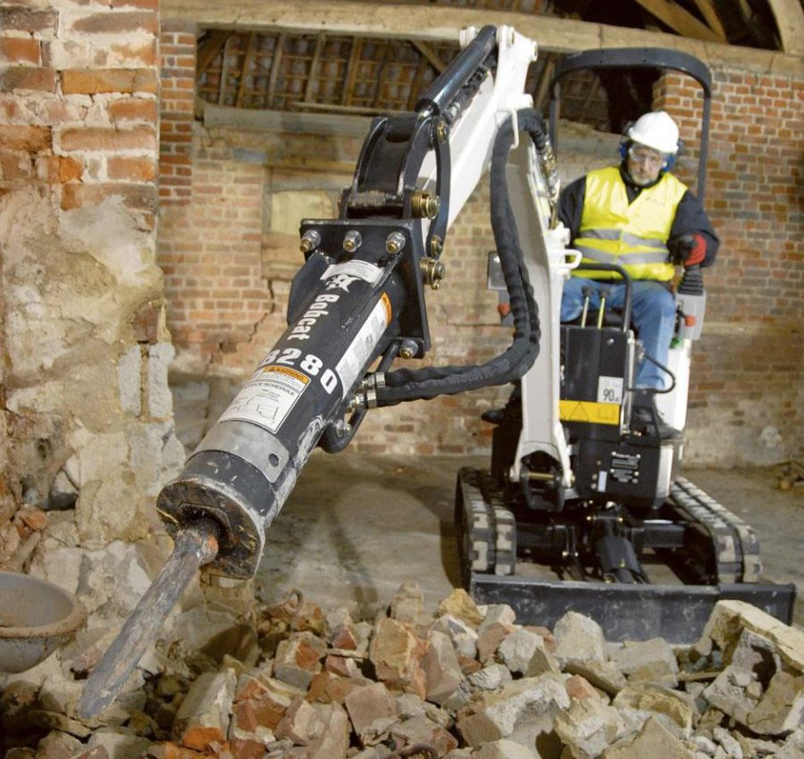 Bobcat Compact Mini Excavator e10 construction agriculture