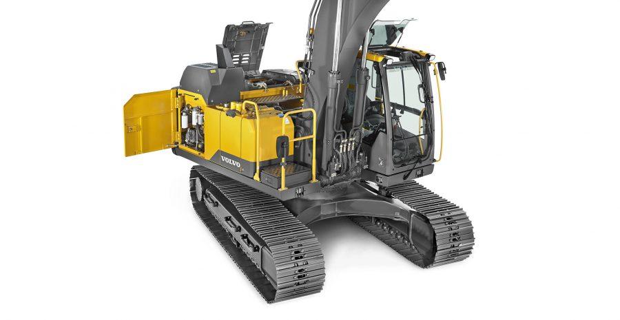 volvo crawler excavator ec160e construction agriculture machinery