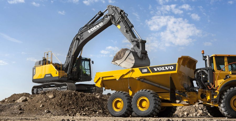 volvo wheel excavator EC380E construction agriculture machinery