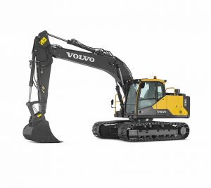 volvo crawler excavator ec160e construction agriculture machinery