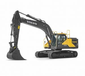 volvo wheel excavator EC250E construction agriculture machinery