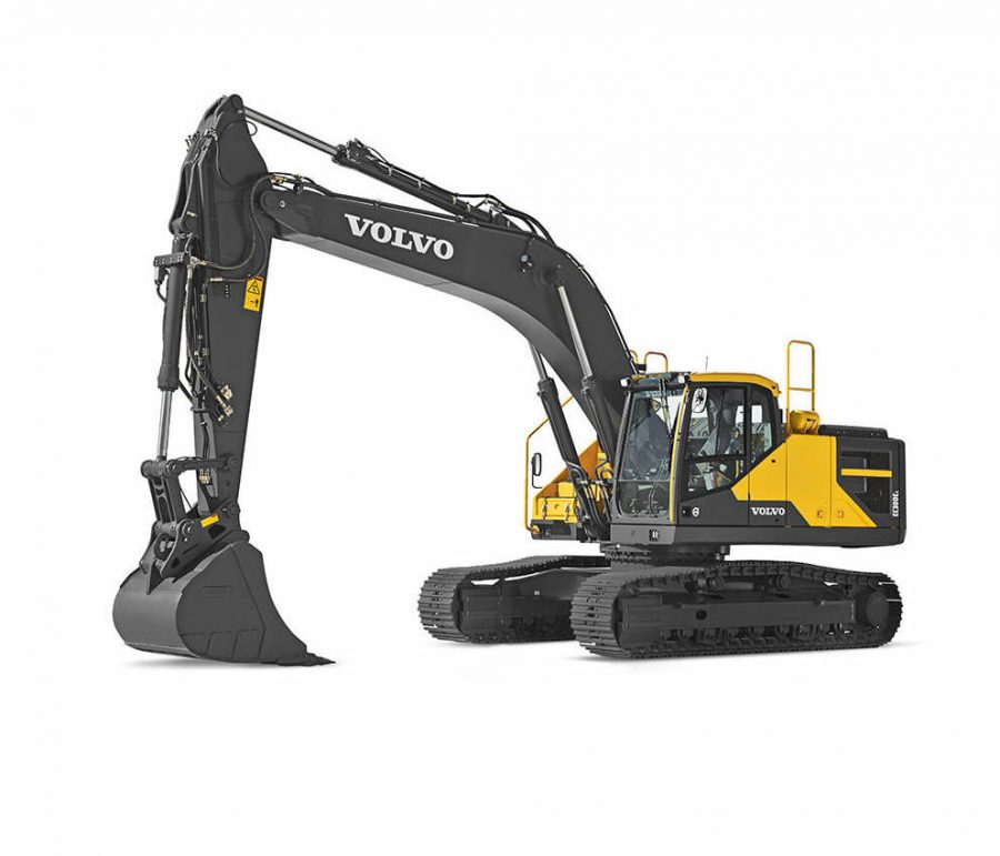 volvo wheel excavator EC300E construction agriculture machinery