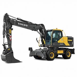 volvo wheel excavator eW180E construction agriculture machinery