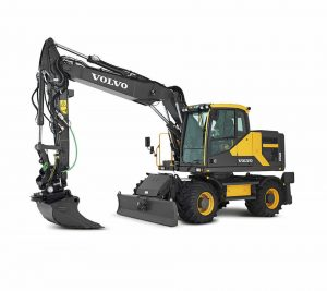 volvo wheel excavator ew106e construction agriculture machinery