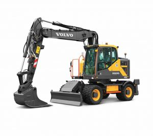 volvo wheel excavator ewR170e construction agriculture machinery