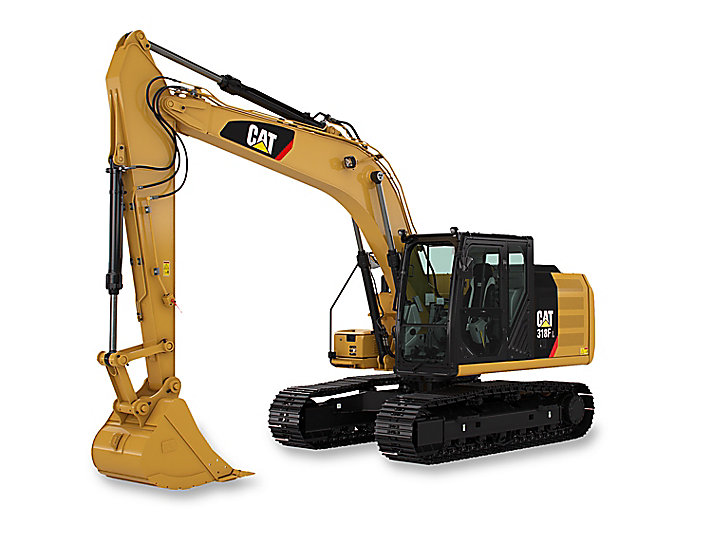 Cat Small Excavator 318FL Construction Machinery Rocksfair