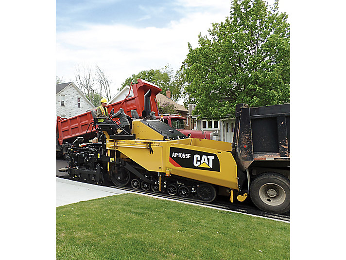 Caterpillar machinery construction agircultre building lifting work tool equipment asphalt paver ap1055f