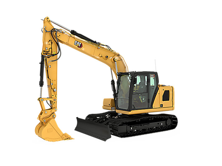 Cat Small Excavator 313 Construction Machinery Rocksfair