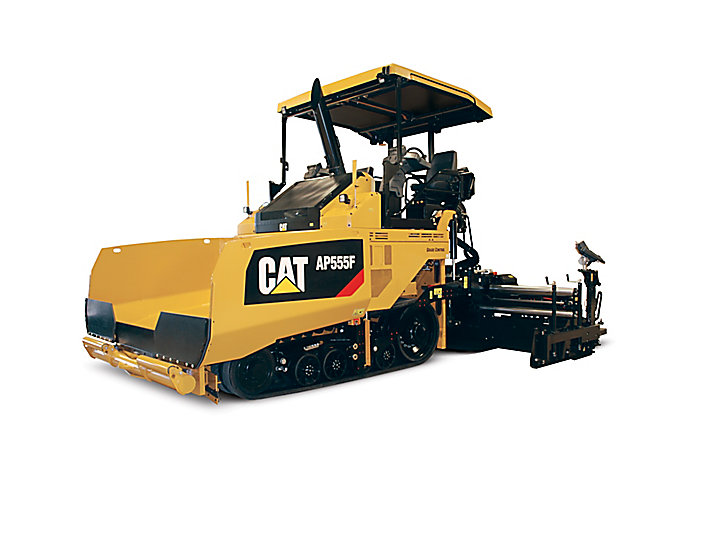 Caterpillar machinery construction agircultre building lifting work tool equipment asphalt paver ap555f