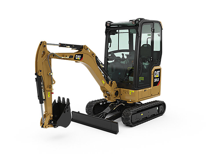 caterpiller 301.8 cat mini compact excavator construction machinery equipment tool