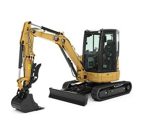 caterpiller 303.5E2CR cat mini compact excavator construction machinery equipment tool